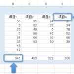 データの入っている表を一括で選択する方法2(Excel VBA)